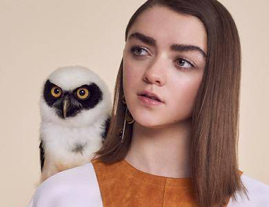 Maisie Williams by Jasper Abels for InStyle UK April 2016