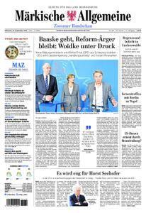 Märkische Allgemeine Zossener Rundschau - 27. September 2017