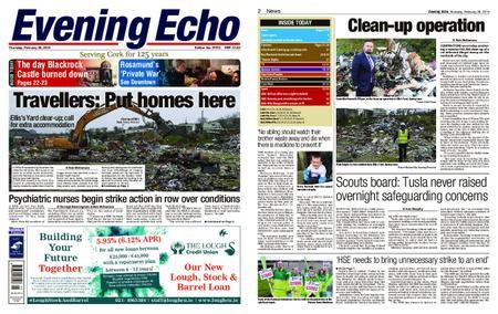 Evening Echo – February 28, 2019