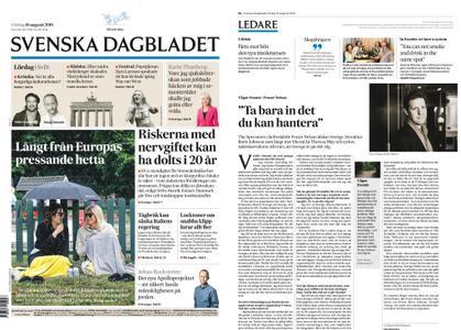 Svenska Dagbladet – 10 augusti 2019