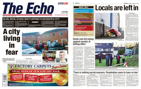 Evening Echo – January 21, 2020