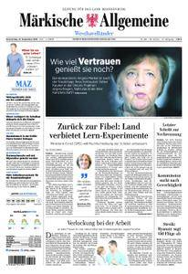 Märkische Allgemeine Westhavelländer - 27. September 2018