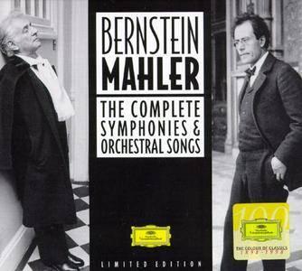 Leonard Bernstein - Bernstein/Mahler: The Complete Symphonies & Orchestral Songs (1998) (16 CD Box Set)