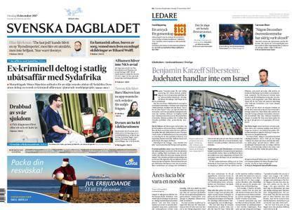 Svenska Dagbladet – 13 december 2017