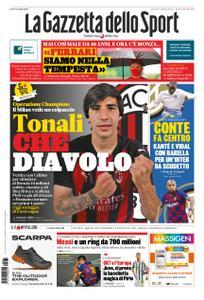 La Gazzetta dello Sport – 31 agosto 2020