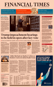 Financial Times UK – 01 November 2019