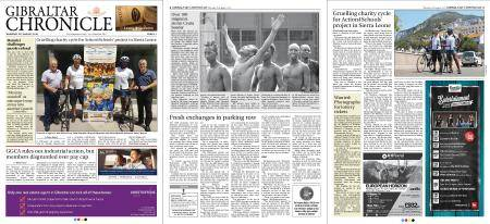 Gibraltar Chronicle – 23 August 2018