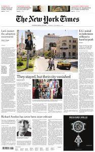 International New York Times - 23 November 2017