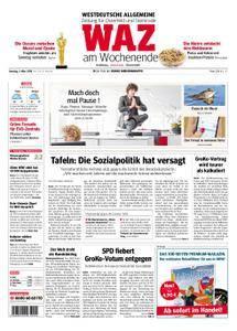 WAZ Westdeutsche Allgemeine Zeitung Oberhausen-Sterkrade - 03. März 2018