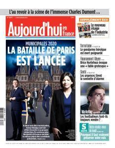Aujourd'hui en France du Lundi 26 Mars 2018