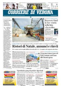 Corriere di Verona – 13 gennaio 2021