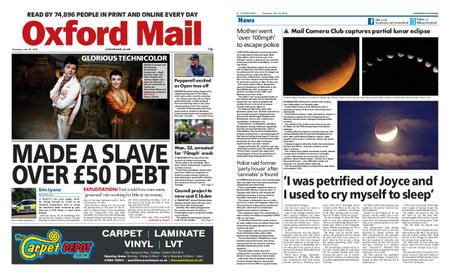 Oxford Mail – July 18, 2019