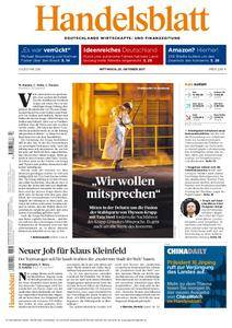 Handelsblatt - 25. Oktober 2017