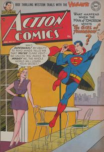 Action Comics 163 DC Dec 1951 c2c Superscan