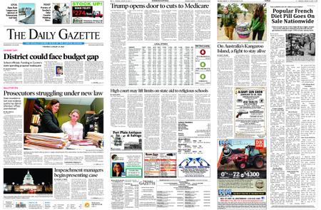 The Daily Gazette – January 23, 2020