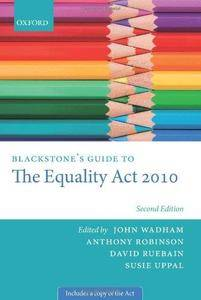 Blackstone's Guide to the Equality Act 2010 (2nd edition) (Repost)