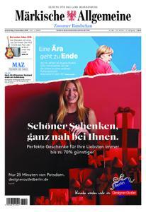 Märkische Allgemeine Zossener Rundschau - 06. Dezember 2018