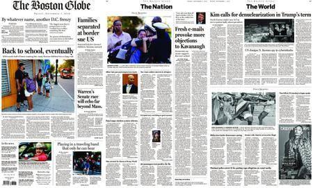 The Boston Globe – September 07, 2018