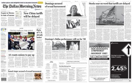 The Dallas Morning News – August 14, 2019