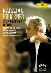 Herbert von Karajan, Wiener Philharmoniker, Wiener Singverein - Bruckner: Symphonies Nos. 8 & 9; Te Deum (2008/1978)