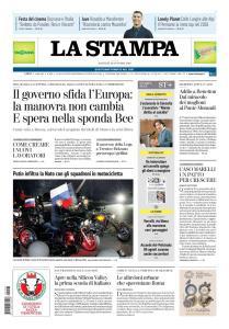 La Stampa Imperia e Sanremo - 23 Ottobre 2018