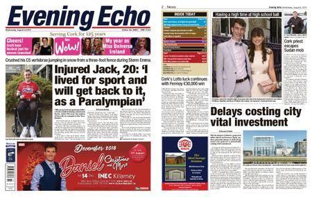 Evening Echo – August 08, 2018