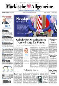 Neue Oranienburger Zeitung - 17. Juli 2018