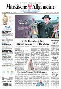 Märkische Allgemeine Luckenwalder Rundschau - 28. März 2019