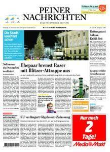 Peiner Nachrichten - 28. November 2017
