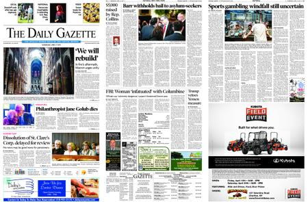 The Daily Gazette – April 17, 2019