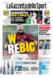 La Gazzetta dello Sport Roma – 18 febbraio 2020