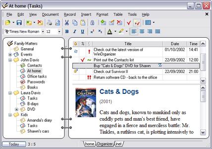 WinOrganizer 4.4 Build 1900 Multilanguage