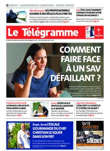 Le Télégramme Brest Abers Iroise – 08 août 2020