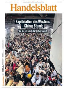 Handelsblatt - 20 August 2021