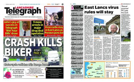 Lancashire Telegraph (Blackburn, Darwen, Hyndburn, Ribble Valley) – August 08, 2020