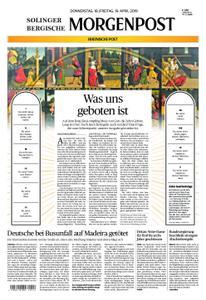 Solinger Morgenpost – 18. April 2019