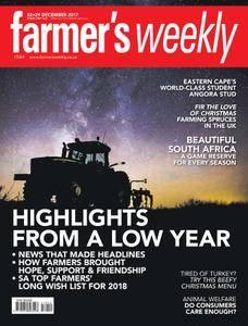 Farmer's Weekly - 22 December 2017