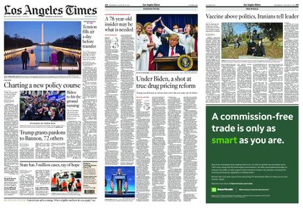 Los Angeles Times – January 20, 2021