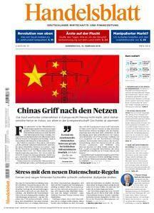 Handelsblatt - 15. Februar 2018