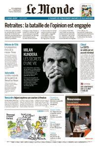 Le Monde du Mardi 17 Décembre 2019