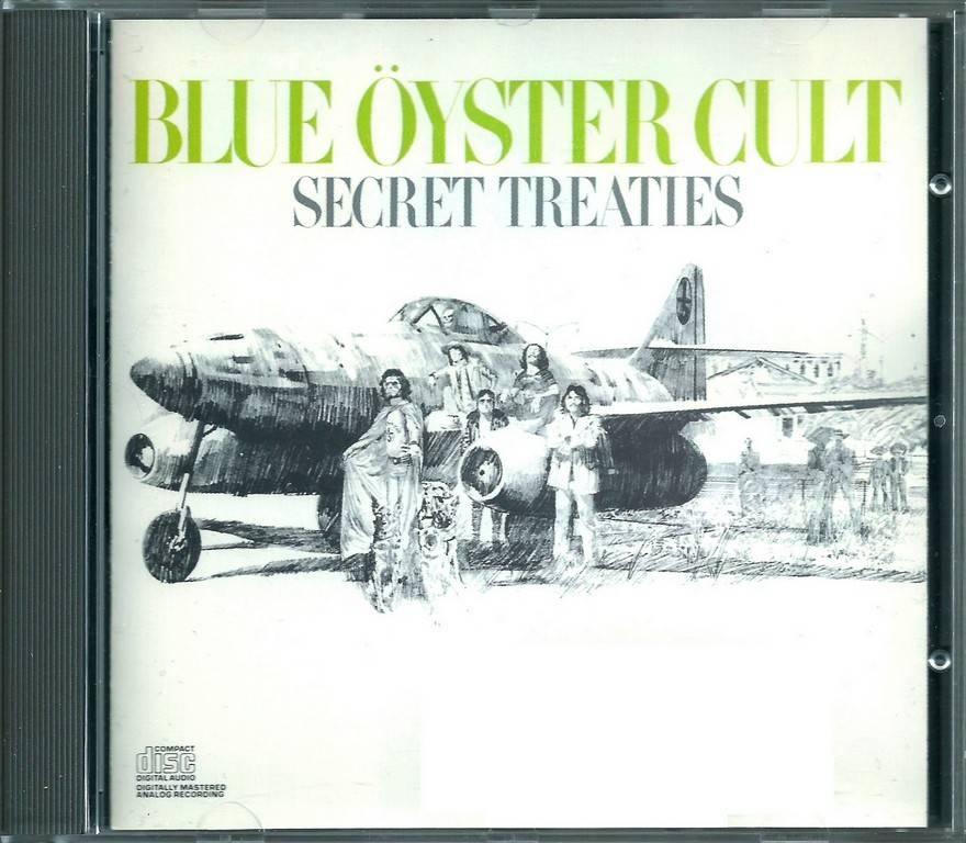 Blue Öyster Cult - Secret Treaties (1974) {1988, Reissue}