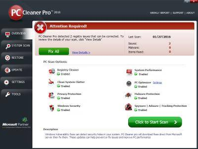 PC Cleaner Pro 2016 14.0.16.1.27