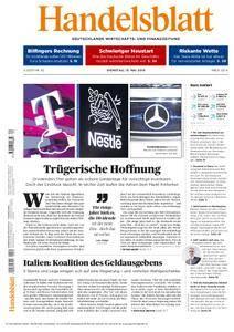 Handelsblatt - 15. Mai 2018