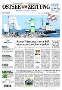 Ostsee Zeitung Wolgast - 10. August 2018