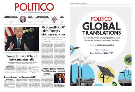 Politico – May 20, 2020