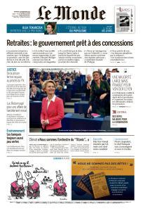 Le Monde du Vendredi 29 Novembre 2019