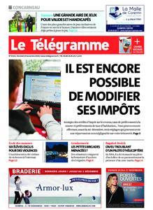 Le Télégramme Concarneau – 29 novembre 2019