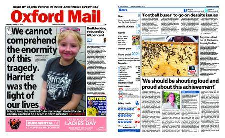 Oxford Mail – August 11, 2018