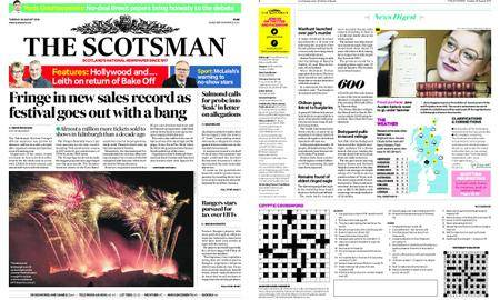 The Scotsman – August 28, 2018