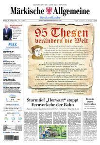 Märkische Allgemeine Westhavelländer - 30. Oktober 2017